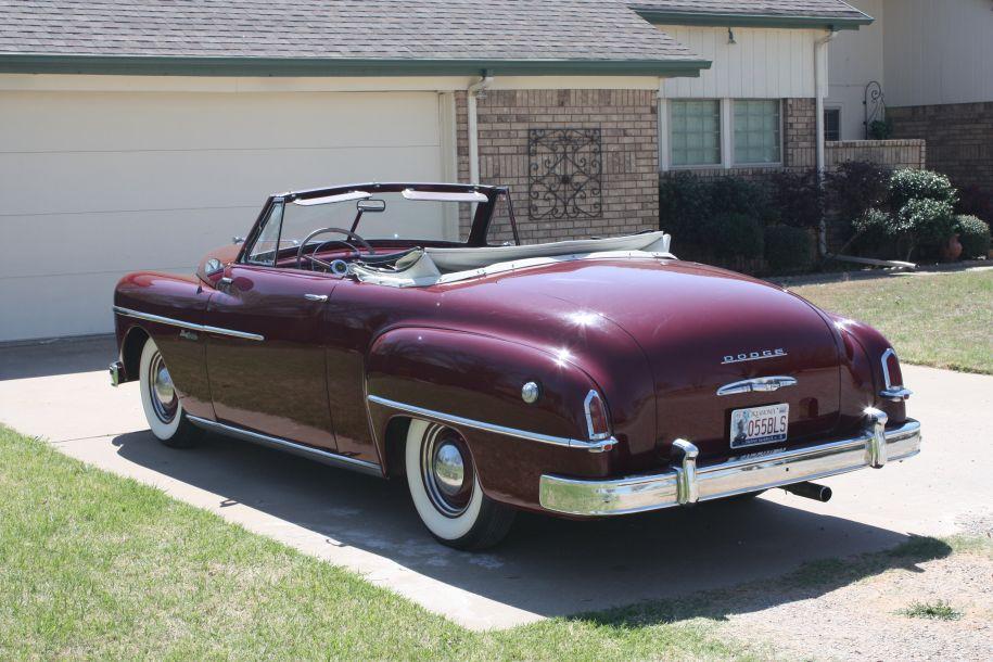 Wayfarerwalk's 1950 Dodge Wayfarer convertible Pictures
